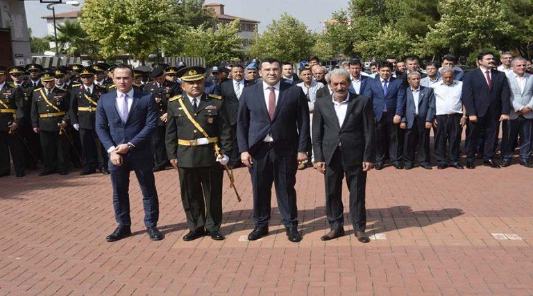 Siverek'te 30 Ağustos Zafer Bayramı töreni