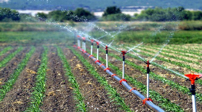 Şanlıurfa'da, 481 Bin 810 dekar arazi sulandı