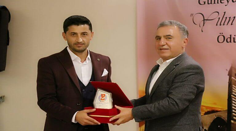 Mehmet Sezgin'e birincilik ödülü