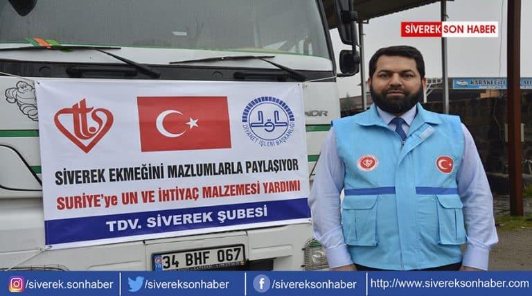 İdlib için toplanan yardım malzemesi gönderildi
