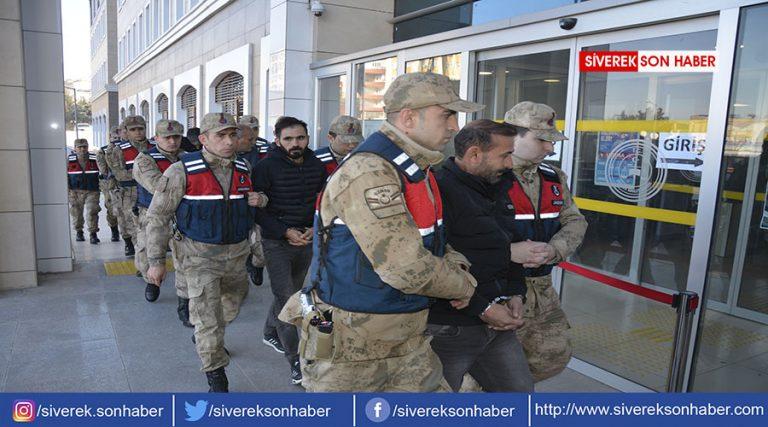 Akaryakıt hırsızlığı yapan 14 kişi tutuklandı