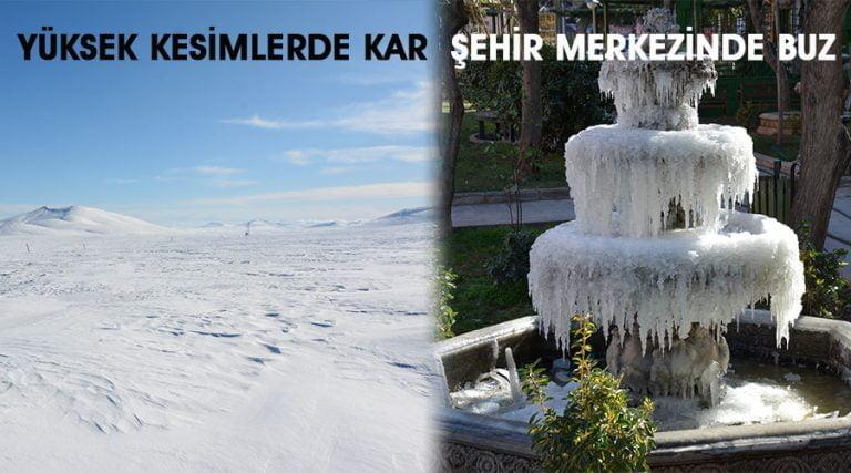 Dondurucu soğuklar hayatı olumsuz etkiliyor