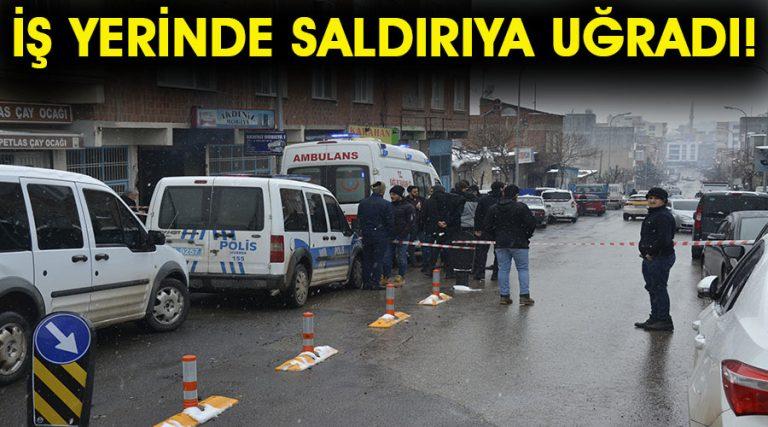 Siverek'te silahlı saldırı: 1 ölü