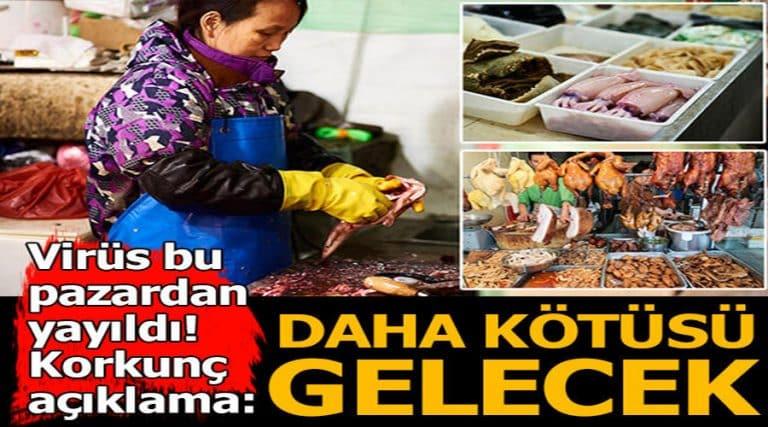 Çin'deki hayvan etlerinin satıldığı pazarlar, dünyayı tehdit ediyor!