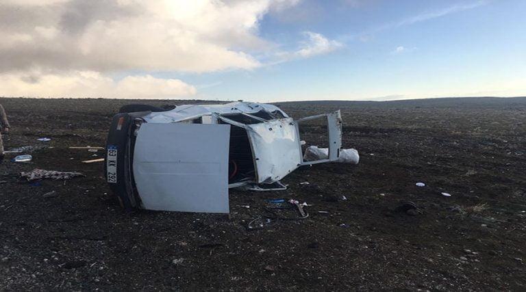 Kayak merkezi yolunda iki ayrı kaza: 9 yaralı