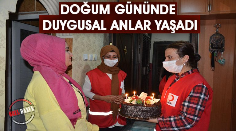 İstanbul'dan Siverek'e 'Kızılay' destekli doğum günü sürprizi