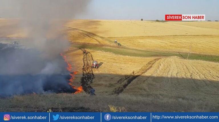Yangınlar çiftçiyi mağdur ediyor!