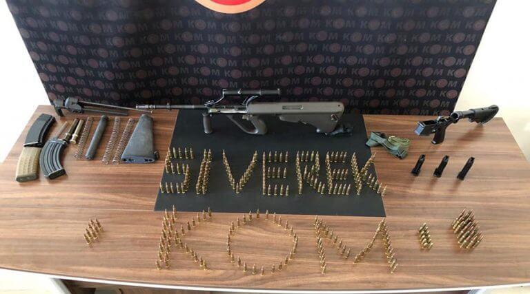 Silah kaçakçılığı operasyonunda yakalanan zanlı tutuklandı