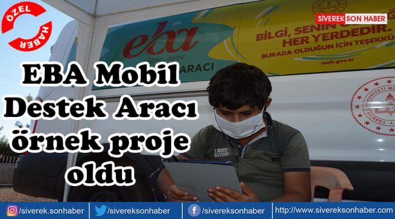 EBA Mobil Destek Aracı örnek proje oldu