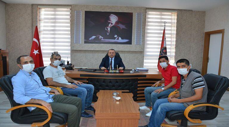 Gazetecilerden Emniyet Müdürü Bilgehan'a ziyaret