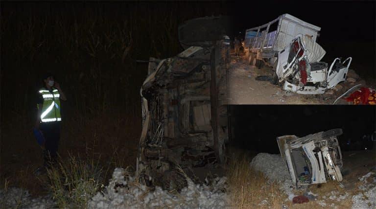 Siverek – Viranşehir yolunda feci kaza: 3 ölü 1 yaralı