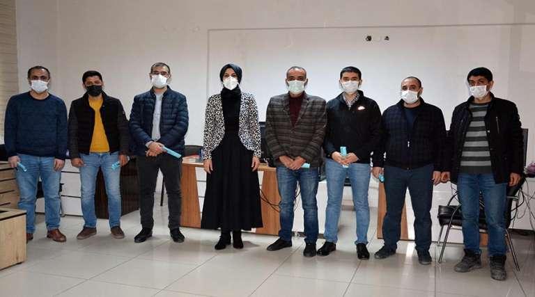 Başkan Ayşe Çakmak'tan gazetecilere ziyaret