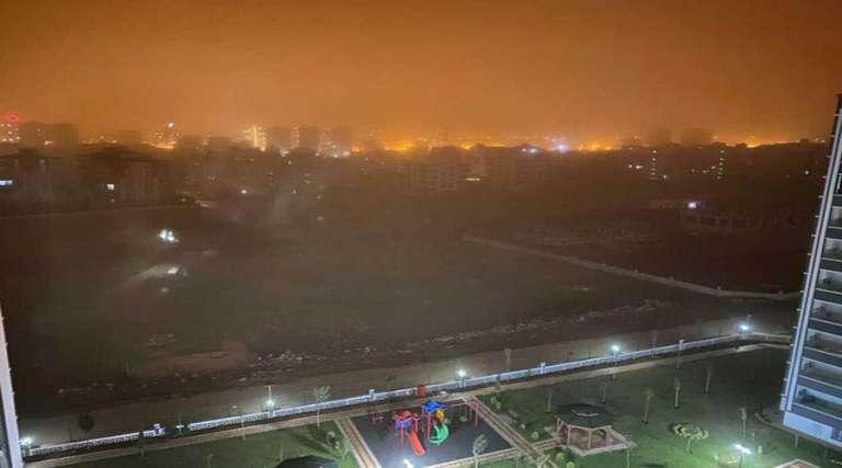 Suriye'den gelen toz bulutu etkili oldu!